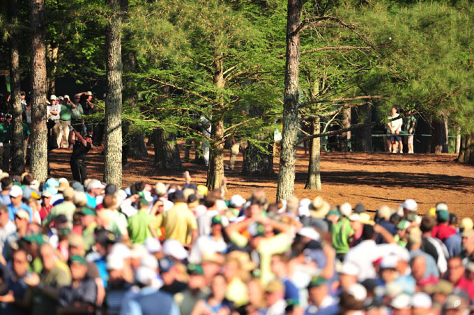 Phil Mickelson at the 2010 Masters