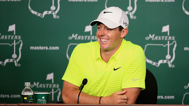 Rory McIlroy will have One Direction bandmember Niall Horan as his caddie during Wednesday's par-3 tournament.