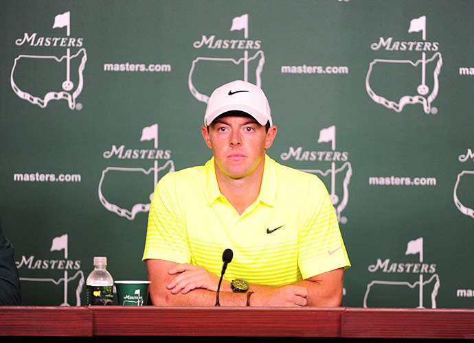Rory McIlroy hopes to be wearing his first green jacket Sunday night.