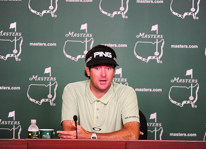 Defending champion Bubba Watson spoke to the media on Tuesday as well.