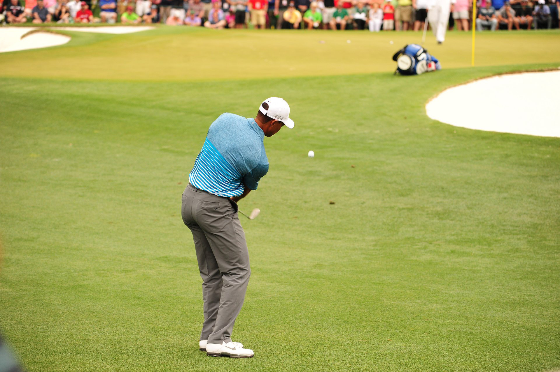 tiger woods u0026 39  scariest masters shots at augusta national
