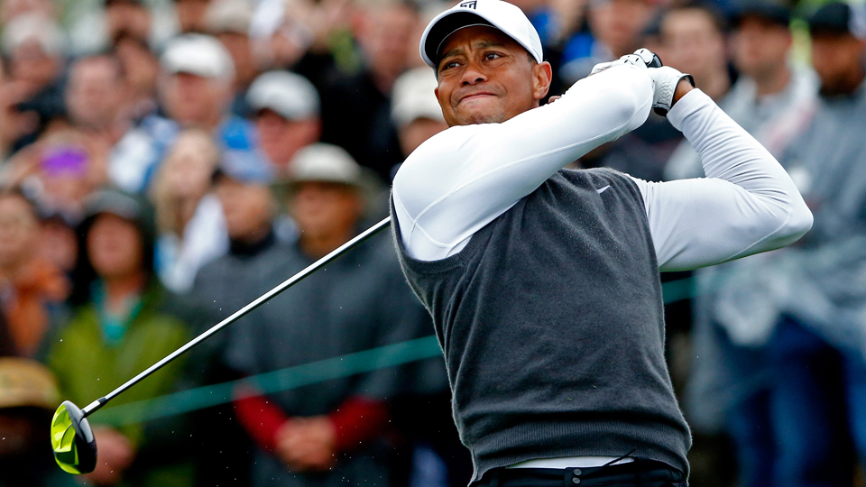 Despite missing the cut in Phoenix, Tiger still averaged 323 yards off the tee.