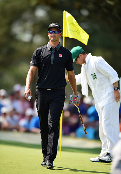 Scott won the 2013 Masters, his only major victory so far.