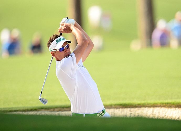 Ian Poulter shot a one-over 73 on day one.