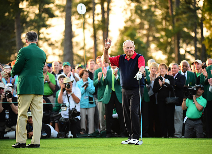 Nicklaus can still play. He made a hole-in-one in Wednesday's Par-3 Contest.
