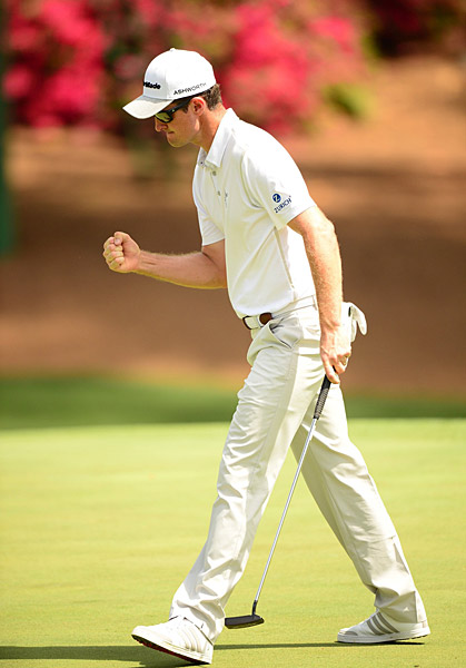 Justin Rose fired a five-under 67 to tie for the early lead.