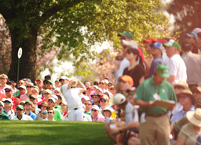 McIlroy is hoping to complete the career grand slam with a win this week.
