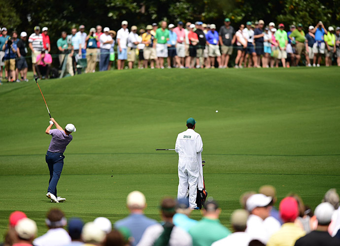 He began with a birdie at the 2nd and never looked back.