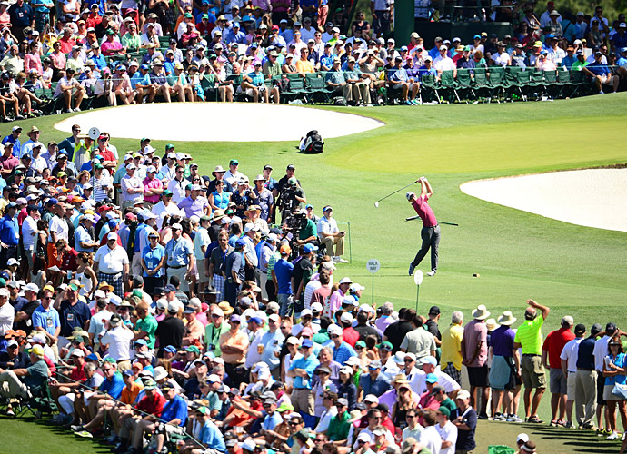Justin Rose will be in the final group with Jordan Spieth after shooting 67 on Saturday.