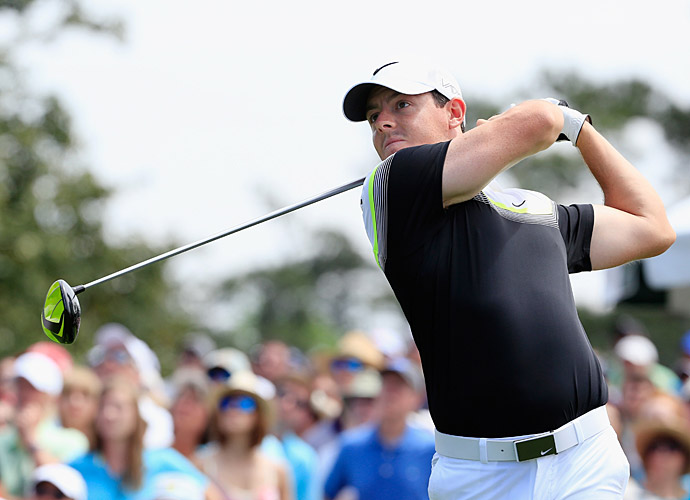 Rory McIlroy shot a four-under 68 in round 3.
