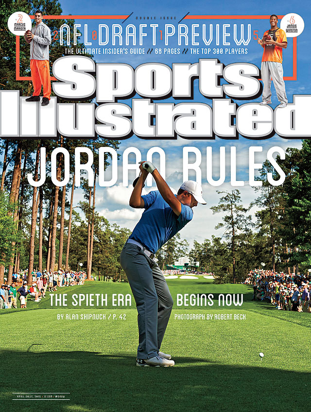 Jordan Spieth lands on this week's cover of Sports Illustrated.