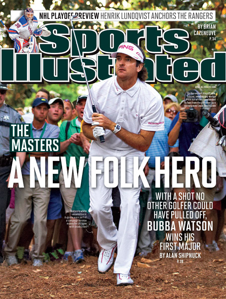 Bubba Watson wins his first Masters