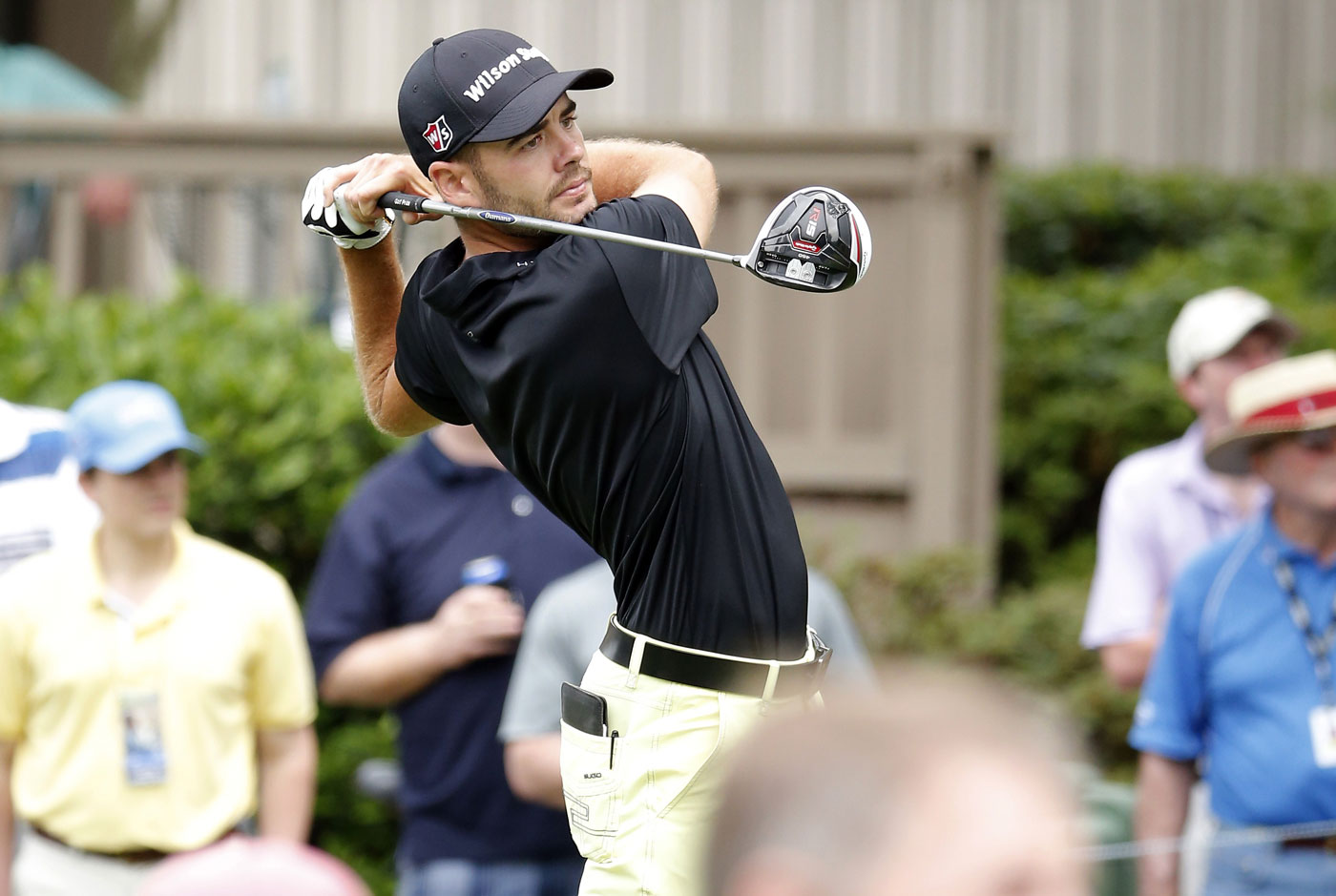 Troy Merritt leads the RBC Heritage at Hilton Head headed to Sunday's final round.