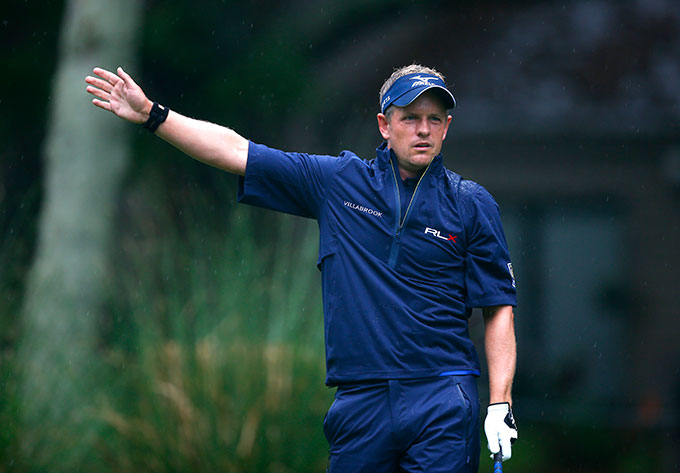 Luke Donald will have to play well the next two weeks to improve his ranking and qualify for the British Open.