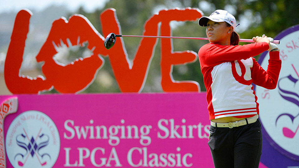 Lydia Ko fired a 67 in the first round of her title defense.