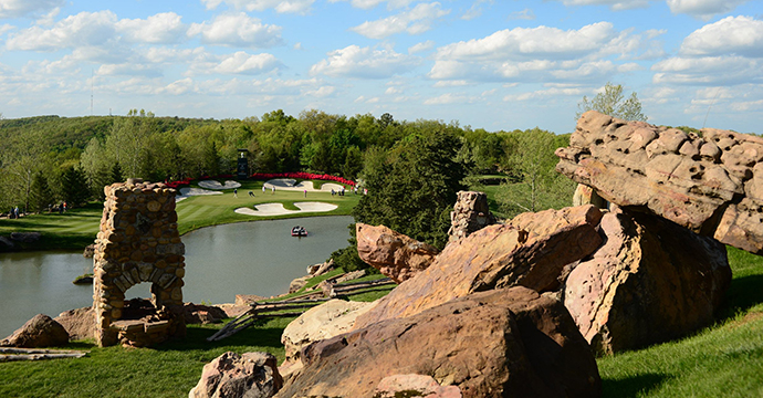 EYE-POPPING: The course views are spectacular.