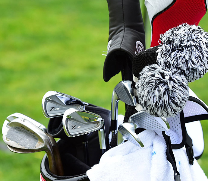 Graeme McDowell has Srixon Z 745 irons in his bag.