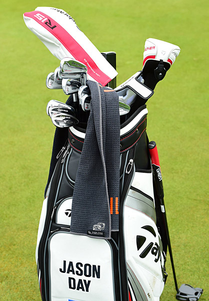 Jason Day's golf bag.