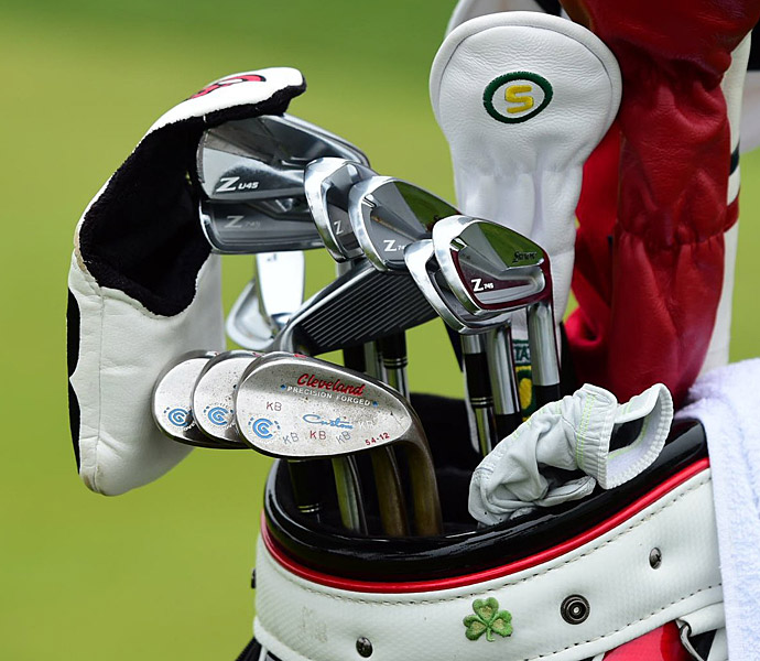 Keegan Bradley has Srixon Z 745 irons in his bag.