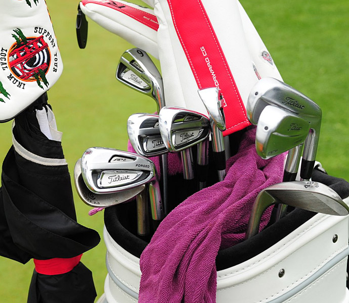 Mikko Illonen plays a mixed bag of Titleist irons.