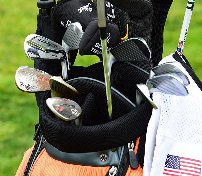 Rickie Fowler uses Cobra Fly-Z Pro irons.