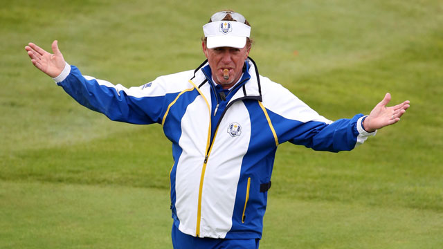 MAJ was one of the favorites on the European side at the 2014 Ryder Cup.