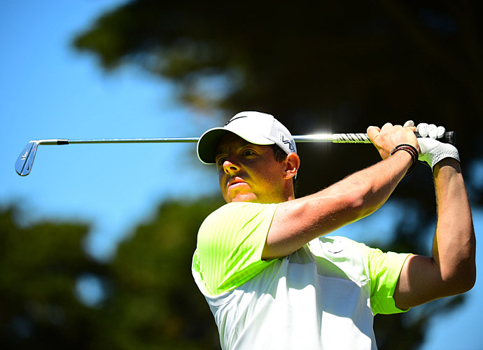Despite his flawless record, McIlroy has to win Friday to advance.