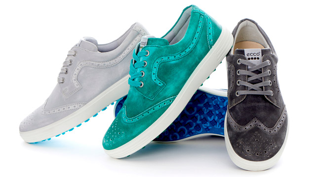 ECCO Casual Hybrid Golf Shoes - Brogue Option