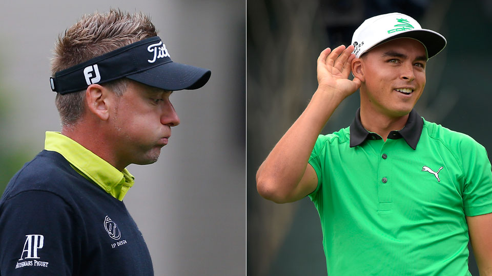 Ian Poulter and Rickie Fowler each received 24 percent of the vote.