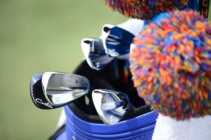 Boo Weekley will hit Srixon forged blades this week.