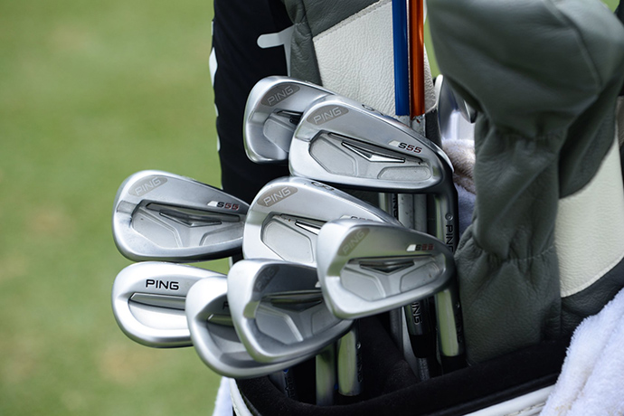 Daniel Summerhays rounds out this custom clubs gallery with Ping S55 irons and Ping Glide wedges.