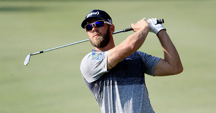 Graham DeLaet of Canada plays a shot on the first hole during round three of THE PLAYERS Championship.
