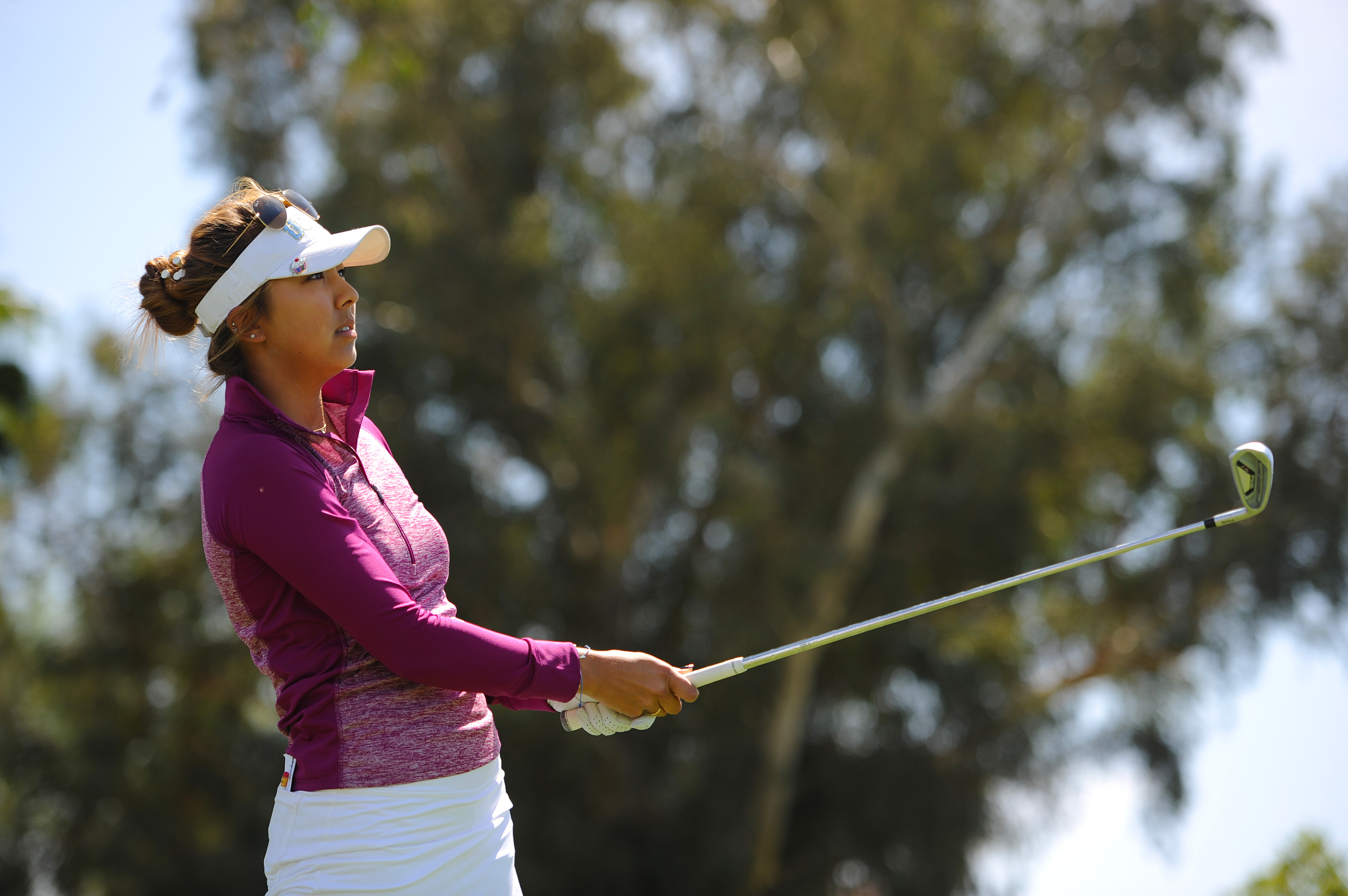 Alison Lee is still a student at UCLA after turning pro in December.