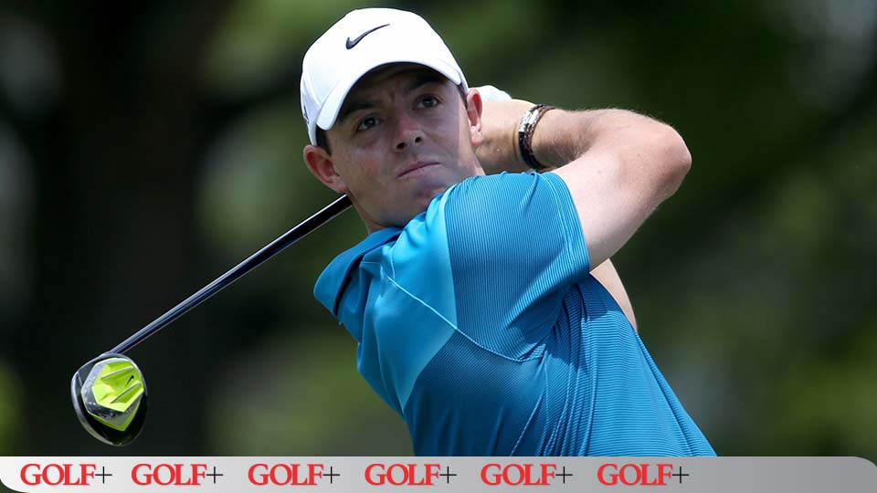 Rory McIlroy led the field in average driving distance during the Wells Fargo Championship.