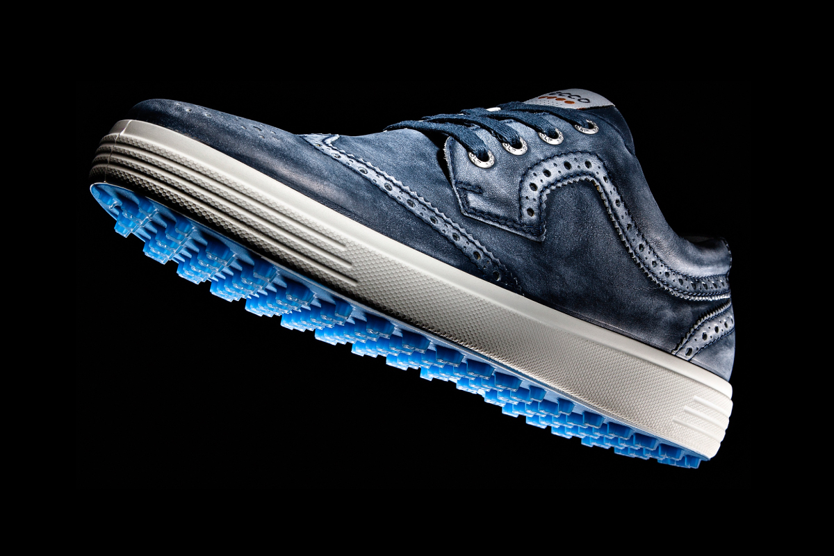 The ECCO Wingtip Casual Hybrid is about as stylish as golf shoes come.