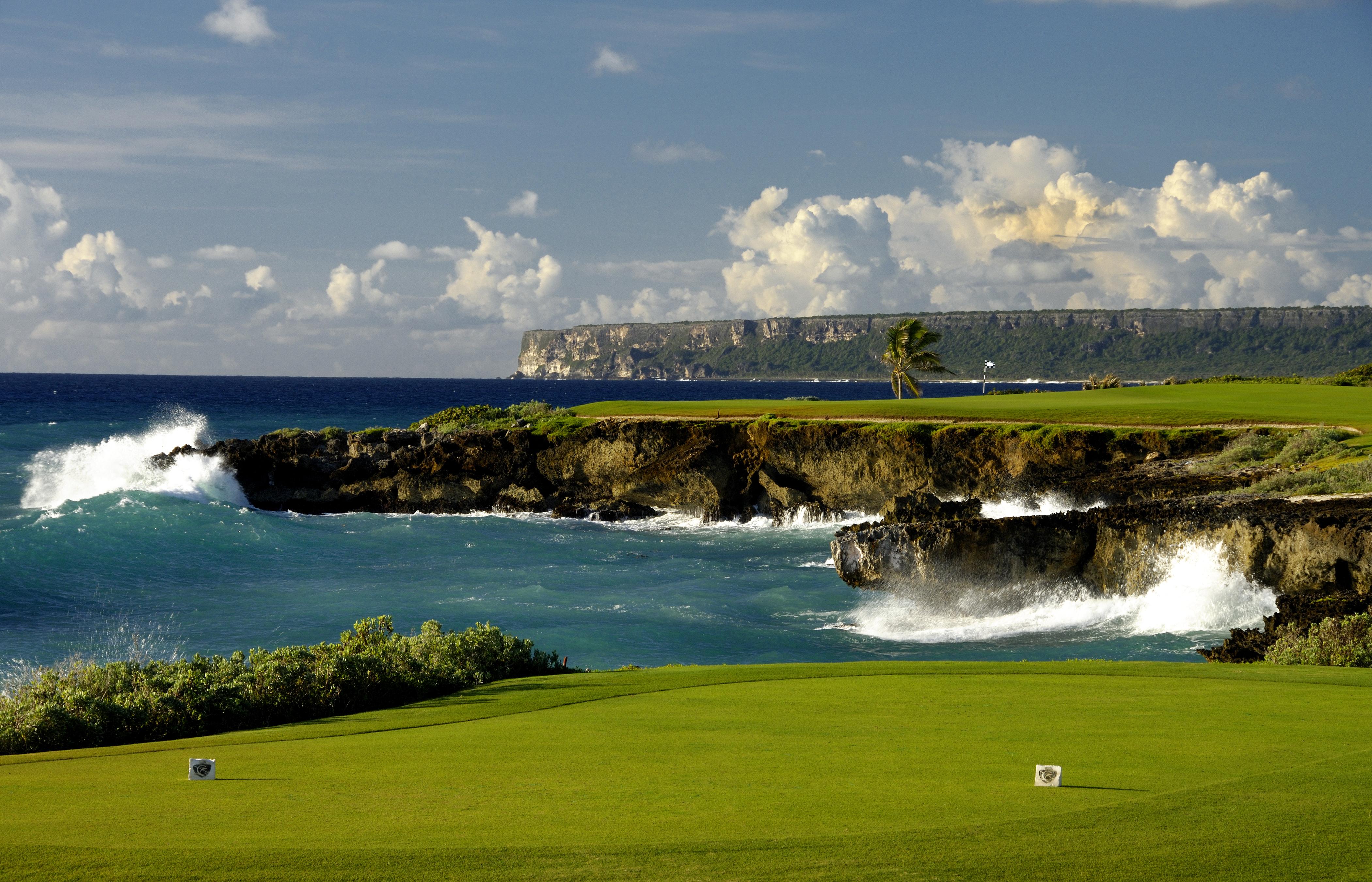 No. 13 at Punta Espada Golf Club at Cap Cana Resortt in the Dominican Republic.