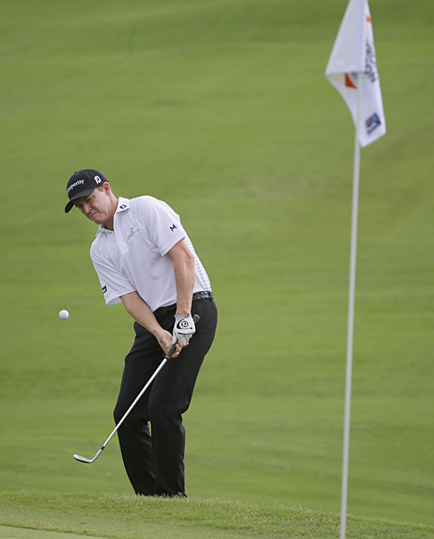 Jimmy Walker shot a six-under 64 to get within two of the lead.