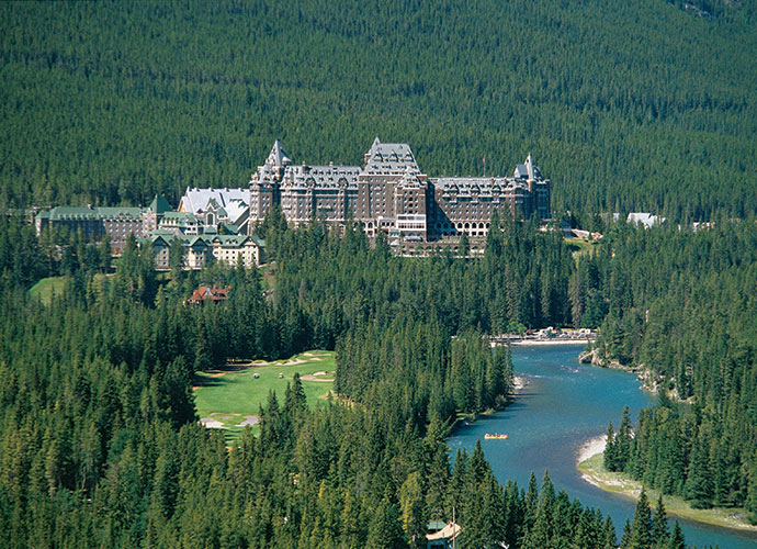 The Fairmont Banff Springs might have a dancing partner for you, if you dare tango with the bride who has yet to leave. Rumor has it she tripped while on the staircase, fell and broke her neck.