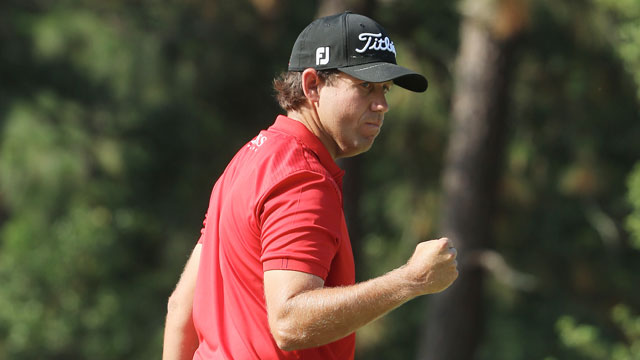 Erik Compton finished tied for second in the 2014 U.S. Open.