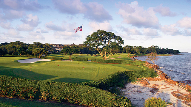 The qualifier will be played at Sea Island's Plantation and Seaside courses.