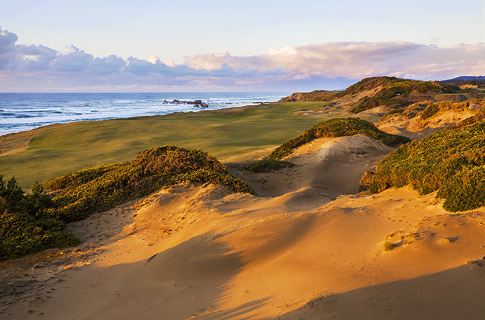 Pacific Dunes, designed by Tom Doak, was the second course to open at Bandon Dunes, in 2001.