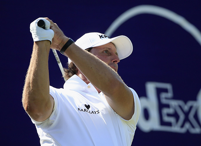 Phil Mickelson shot a two-under 68 on day one of the FedEx St. Jude Classic.