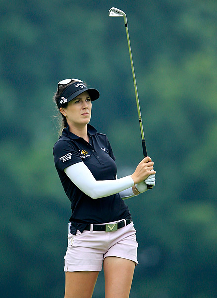 Sandra Gal is in the mix after a three-under 70.