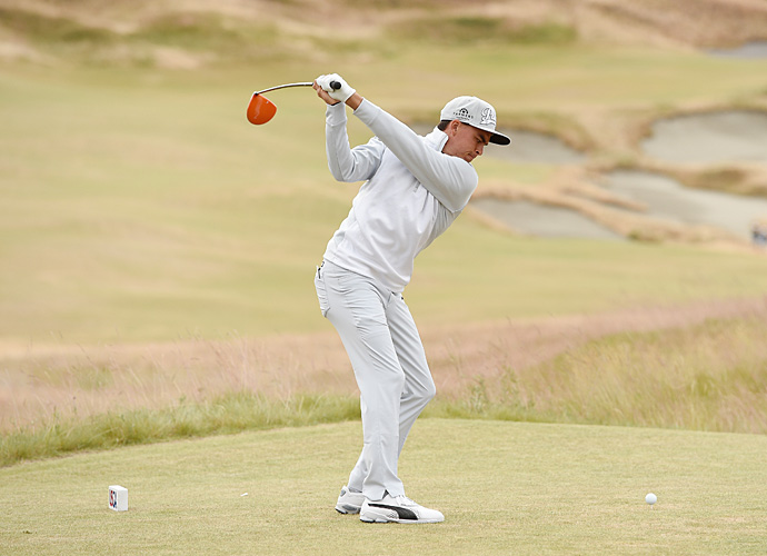Rickie Fowler is looking for his first major win this week.