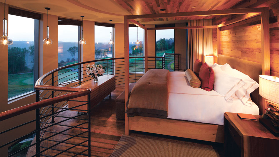 The Pinnacles Suite at The Lodge at Primland goes for $1,000-$1,200/night.