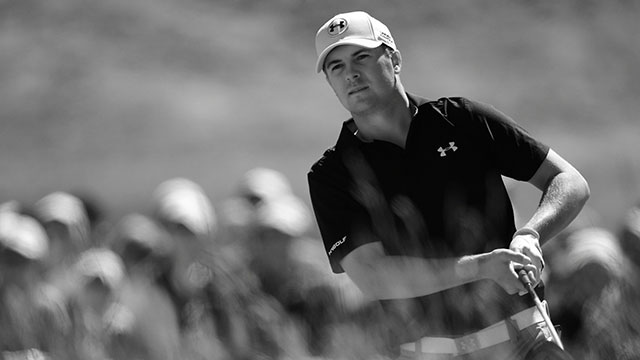 Jordan Spieth finished with a 3-under 67 to enter Saturday at 5-under.