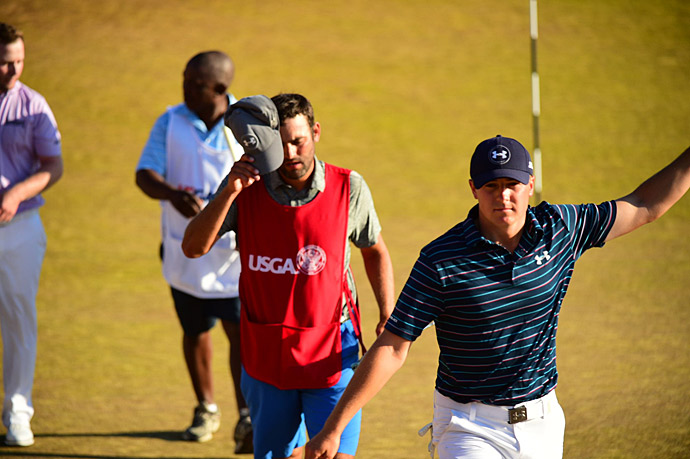 Jordan Spieth birdied the 18th hole to win the 2015 U.S. Open by one shot.
