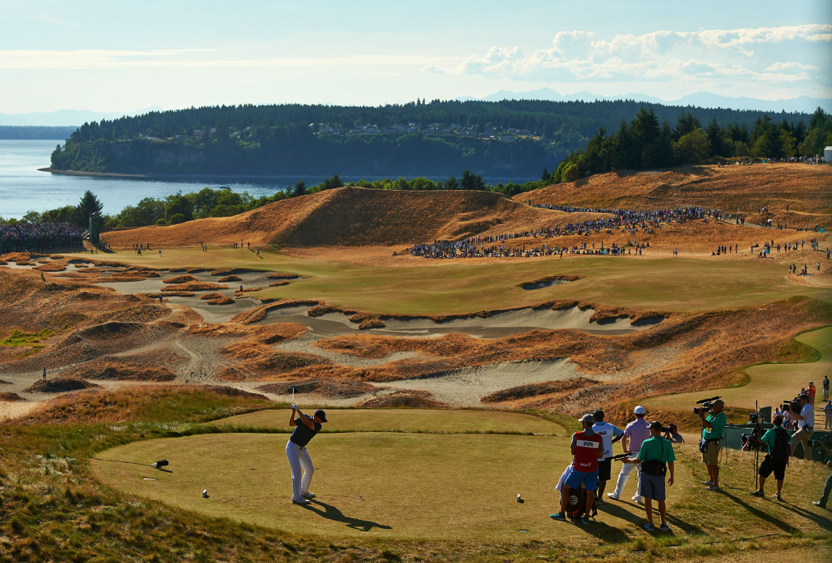Spieth expertly negotiated his way around Chambers Bay.
