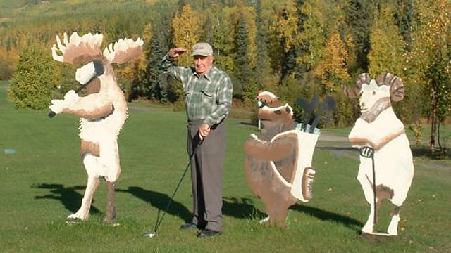 You might have company on the tee at North Star Golf Club, America's northernmost course.