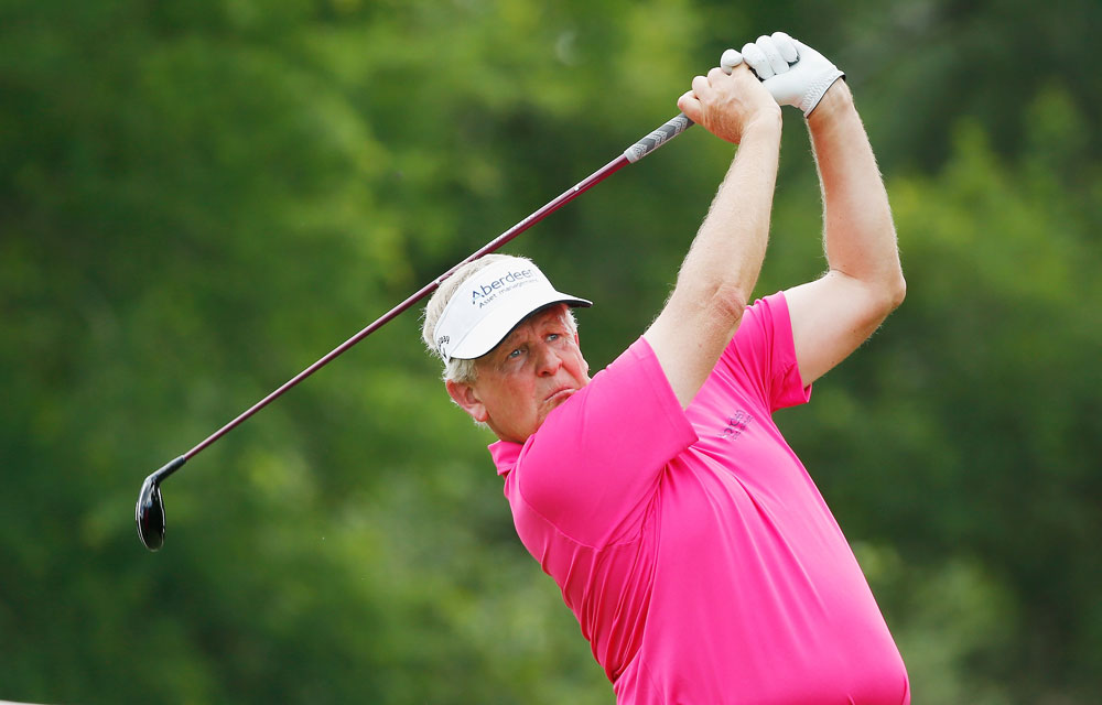 All eyes will be on defending champion Colin Montgomerie at the U.S. Senior Open.